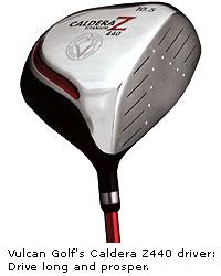 Vulcan Golf's Caldera Z440 driver