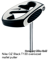 Nike OZ Black T130 Putter