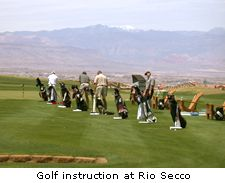 Golf Instruction at Rio Secco
