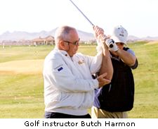 Golf Instructor Butch Harmon