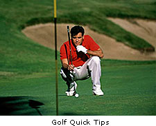 Golf Quick Tips